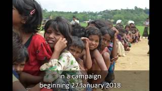 Over 350,000 children get second dose of diphtheria vaccine in Cox's Bazar, Bangladesh