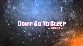 Don't Go To Sleep Trailer