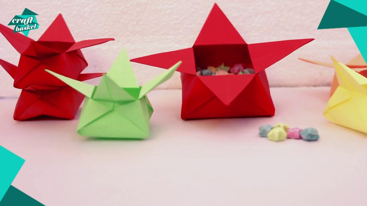 How To Make A Colourful Sweet Box For Diwali Diy Diwali Sweet Box