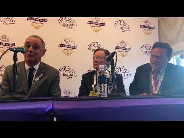 Blue Prize gets top prize in Breeders' Cup Distaff