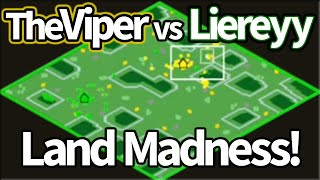 TheViper vs Liereyy on Land Madness!