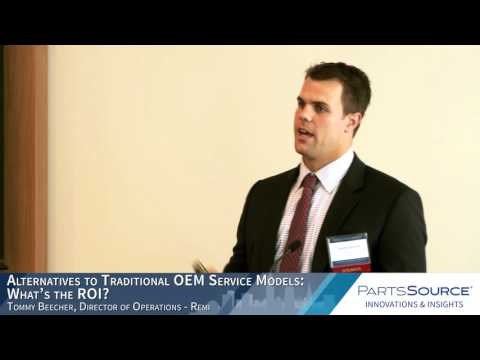 Alternatives to Traditional OEM Service Models: What's the ROI?