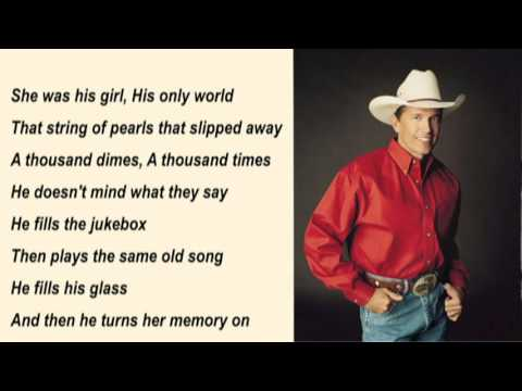 George Strait - Fool Hearted Memory with Lyrics mp3