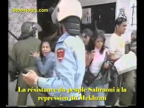 Résistance du peuple Sahraoui à la répression sauvage du Mekhzan