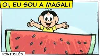 ♫ Oi, eu sou a Magali ♫ | Turma da Mônica thumbnail