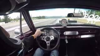 1965 Prostreet Nova Drag Race - GoPro Helmet Cam