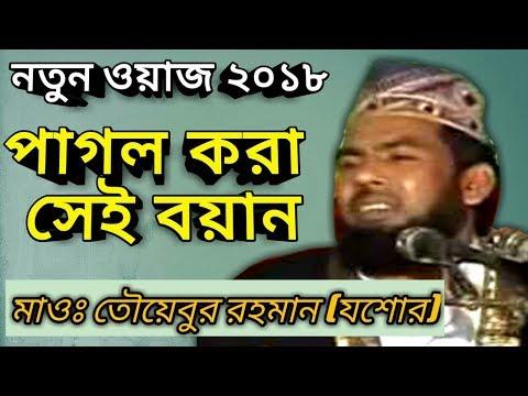 হযরত মাওঃ তৈয়বুর রহমান (জিহাদী)_Maulana Tayabur Rahman New Bangla Waz 2018