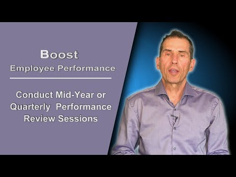 Conducting Regular  Employee Performance Reviews to Boost Performance