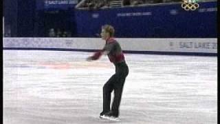 Timothy Goebel (USA) - 2002 Salt Lake City, Figure Skating, Men's Short Program