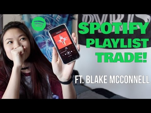 spotify playlist trade ft. blake mcconnell! | caitlin rielly