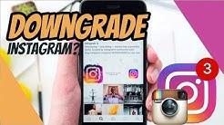 Ada Yang Mau DownGrade Instagram? Tapi Gak Tau Versinya?
