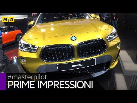 BMW X2, SUV compatto e sportivo da 143 a 231 CV | Live from Detroit 2018