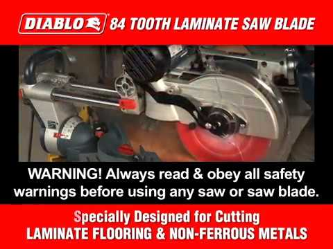 Diablo Steel Demon Nonferrous Metal-Cutting Circular Saw Blade - 12in  x  96T, Model# D1080N