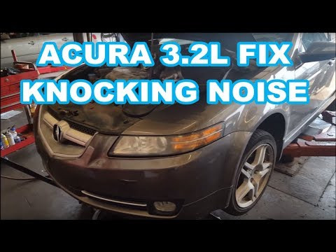 Acura Tl 3 2l Knocking Noise Explained Honda Failed Timing Belt Tensioner Youtube