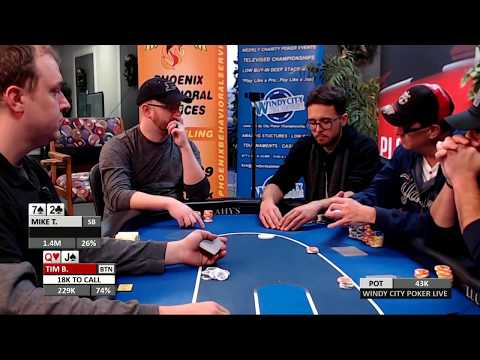 Nappanee Poker Classic Final Table Main Event 2017 Dec Part 1 of 3