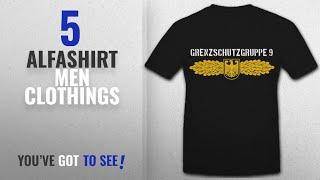 Top 10 Alfashirt Men Clothings [ Winter 2018 ]: Border Guard Group 9 Gsg9 federal police Antiterror