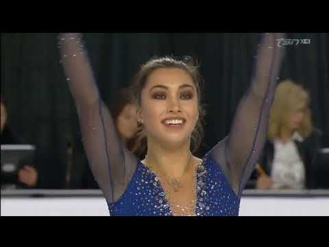 Gabrielle Daleman 2018 Canadian Tire National Skating Championships - FS & interview