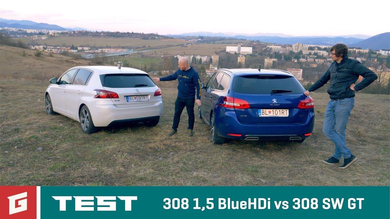 PEUGEOT 308 1,5 Blue HDi (2018) -TEST - GARÁŽ.TV - Rasťo Chvála - YouTube