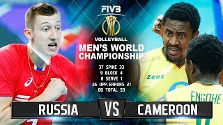 Russia vs. Cameroon | Highlights | Men's World Championship 2018