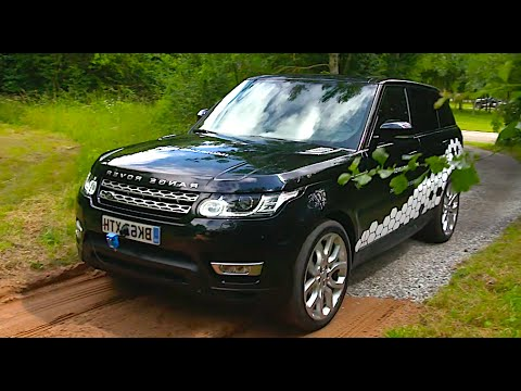 Range Rover Self Driving Car Off Road World First Jaguar Auto Pilot Autonomous Car 2016 CARJAM TV