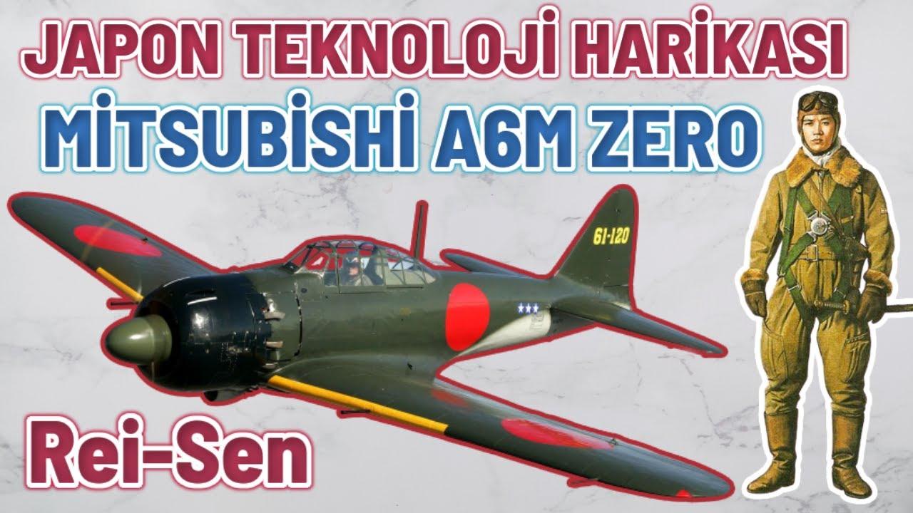 JAPON TEKNOLOJİ HARİKASI MİTSUBİSHİ A6M ZERO AVCI UÇAĞI 2. dünya savaşı tarihi