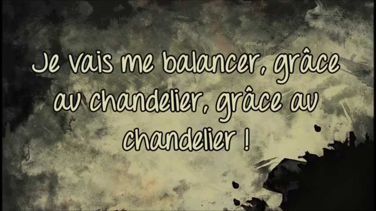 Sia - Chandelier (Traduction Française HD) - YouTube