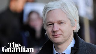 Julian Assange expected at magistrates court after arrest - watch live