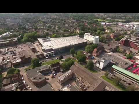 Tour Of Crawley  Phantom 4