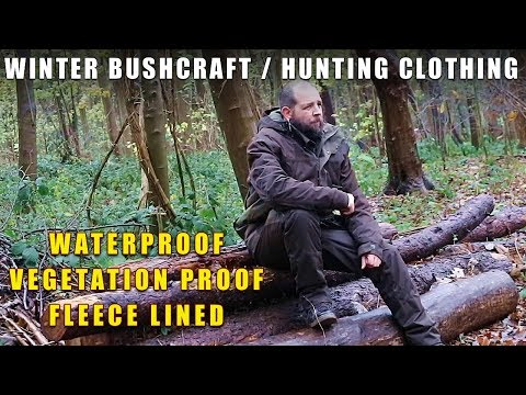 Winter Bushcraft Clothing By Solognac / Decathlon