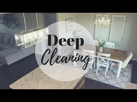 CLEAN WITH ME | DEEP CLEANING | MOTIVATIONAL CLEANING