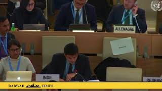 UN Human Rights Council: India condemns Pakistan's perseuction of Ahmadis