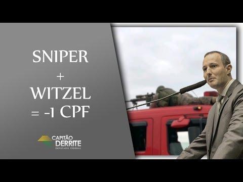 Witzel + Sniper = 01 (um) CPF Cancelado