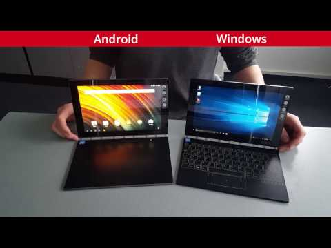 Yoga Book Windows Vs Yoga Book Android