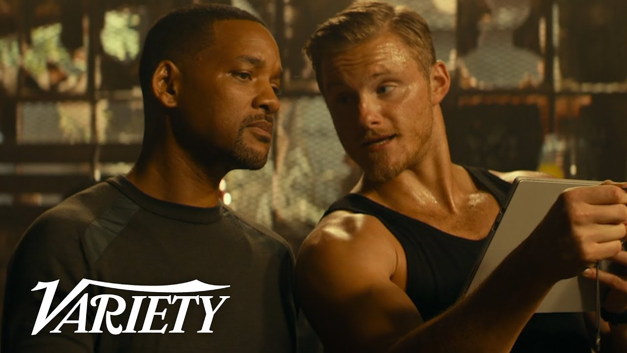 Alexander Ludwig on Joining 'Bad Boys for Life' & Using The Rock's Workout Plan