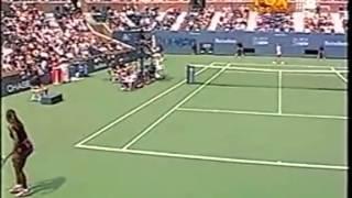Serena Williams vs Jelena Dokic 2000 US Open 2/7