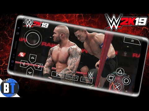 (130mb) How To Download WWE 2K19 PSP On Android