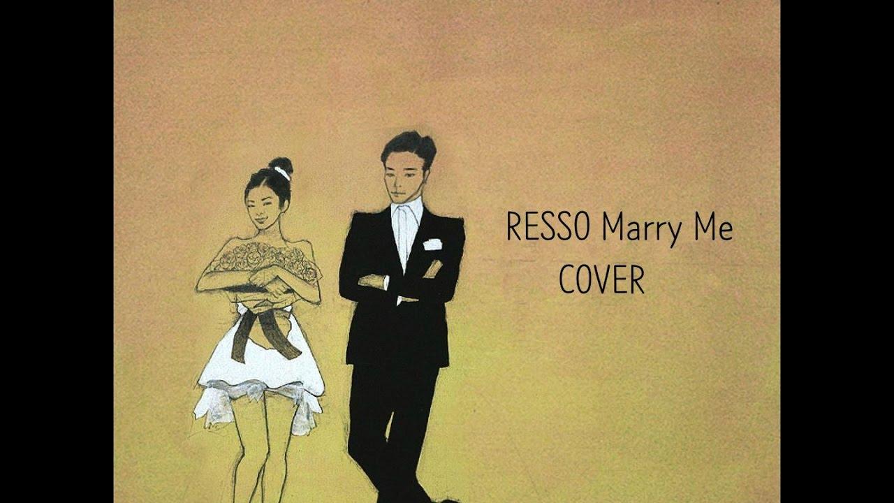 마크툽 - Marry me [Cover] (lyrics video) - by. Resso Chords ...