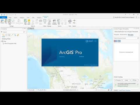 Setting Default Folder and Database Connections in ArcGIS Pro