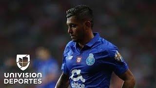 ¡Gol de Tecatito! Corona anota el tercero del Porto sobre Lokomotiv