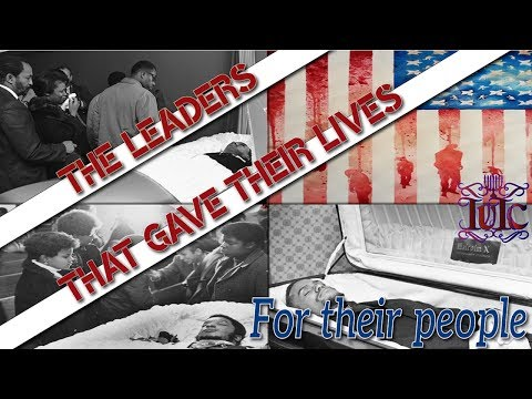The Israelites: The Leaders that gave their lives for THEIR people
