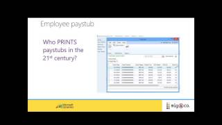 Webinar 2015 Dynamics GP Human Resources & Payroll -  ACA Compliant &  Unlimited Payroll