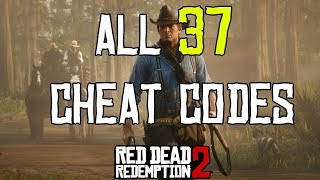 Red Dead Redemption 2 - All 37 Cheat Codes (Spoilers)