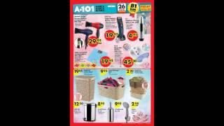 A101 26 Mayıs - 2 Haziran 2016 Aktüel Ürünler Video Katalogu