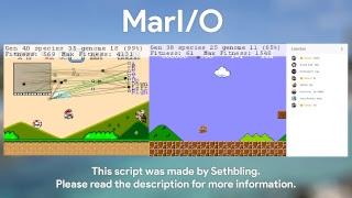 MarI/O - AI learning how to play SMW and SMB (Read Description)
