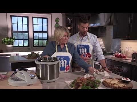 YouTube Exclusive: Martha Stewart Cooks A Moroccan Lamb FEAST!
