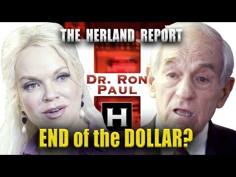 The end of the Dollar (3/4) - Dr. Ron Paul, Herland Report TV (HTV)