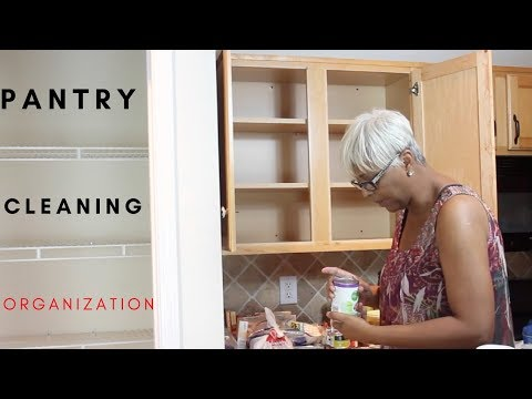 ORGANIZATION   PANTRY CLEANING