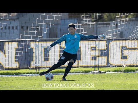 How to: kick Goal kicks | Improve goal kick | Stab-technique - Kick the ball farther