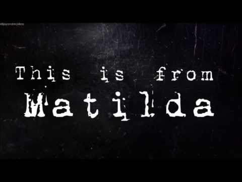 Paramore - Matilda (Alt-J Cover) (With Lyrics)