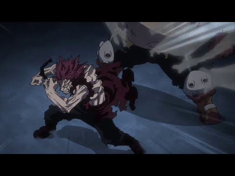 Kirishima y Fat Gum VS Tengai y Rappa / Boku no Hero Academia Temporada 4 / Cap 9 Sub Español
